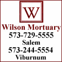 Wilson Mortuary Hyperlink and image